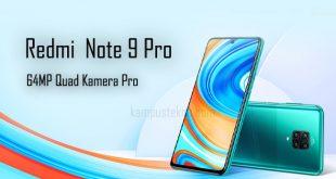 Xiaomi Redmi Note 9 Pro Spesifiakasi